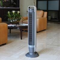 Seville Classics UltraSlimline 40 inch Tilt Tower Fan Black