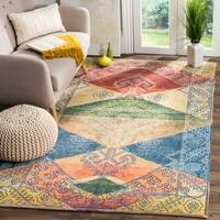 Safavieh Safran Handmade Multi Cotton Area Rug - 4' x 6'