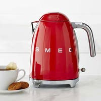 Smeg 50s Style Electric Kettle, Red