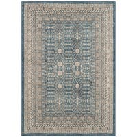Safavieh Sofia Vintage Blue/ Beige Distressed Area Rug - 3' x 5'
