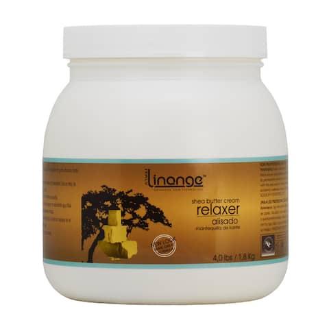 Linange Shea Butter Cream Relaxer 4-pound