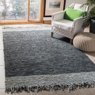 Safavieh Vintage Leather Hand-Woven Grey Area Rug - 3' x 5'
