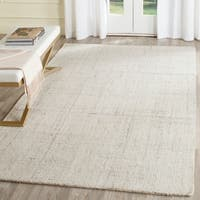 Safavieh Abstract Contemporary Hand-Tufted Ivory/ Beige Polyester Area Rug - 5' x 8'