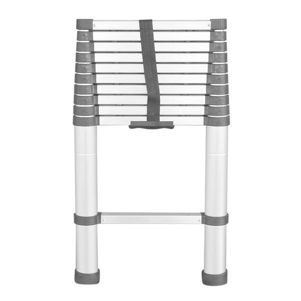 Shop Folding Aluminum Step Ladder 8 5ft 14 5ft Free