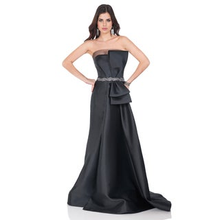 Striking Ball Gown with Sheer Bodice