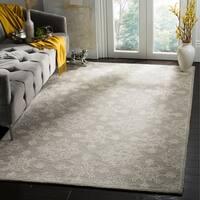 Safavieh Blossom Hand-Tufted Beige Wool Area Rug - 5' x 8'