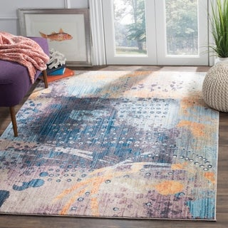 Safavieh Bristol Multi Polyester Area Rug (6' x 9')
