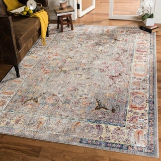 Safavieh Bristol Transitional Grey Polyester Area Rug (6' x 9')