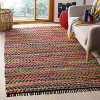 Safavieh Cape Cod Coastal Hand-Woven Natural/ Multi Jute Area Rug - 5' x 8'