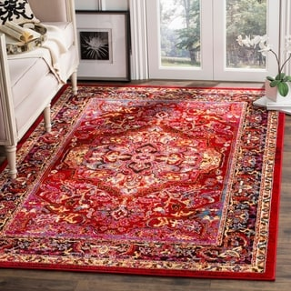 Safavieh Cherokee Transitional Red/ Pink Area Rug (6' x 9')