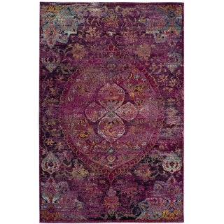 Safavieh Crystal Pink/ Purple Area Rug (5' x 8')