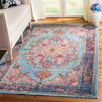 Safavieh Harmony Blue/ Purple Area Rug - 5' x 8'