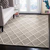 Safavieh Natura Hand-Tufted Grey Wool Area Rug - 5' x 8'