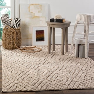 Safavieh Natura Hand-Tufted Beige Wool Area Rug (6' x 9')