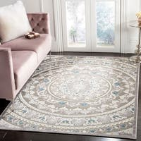 Safavieh Paradise Grey Viscose Area Rug - 6' x 9'