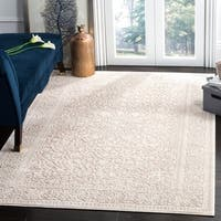 Safavieh Reflection Beige/ Cream Polyester Area Rug - 6' X 9'