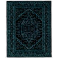 Safavieh Adirondack Vintage Black/ Blue Area Rug - 8' x 10'