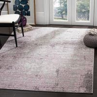 Safavieh Adirondack Modern Abstract Grey / Purple Area Rug - 8' x 10'