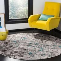 Safavieh Adirondack Modern Abstract Grey / Black Area Rug - 8' x 10'