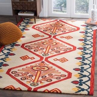 Shop Safavieh Handmade Ikat Sarahi Modern Wool Rug On