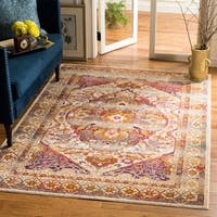 Safavieh Baldwin Transitional Ivory/ Pink Area Rug - 8' x 10'