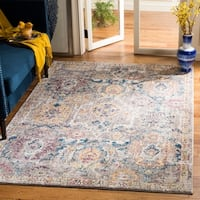 Safavieh Bristol Bohemian Grey/ Blue Polyester Area Rug - 8' x 10'