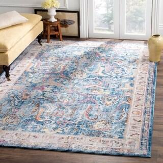 Safavieh Bristol Transitional Blue/ Grey Polyester Area Rug (8' x 10')