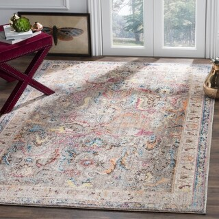 Safavieh Bristol Transitional Purple/ Grey Polyester Area Rug - 8' x 10'