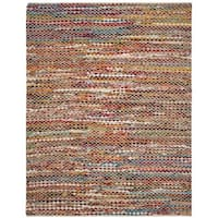 Safavieh Cape Cod Coastal Hand-Woven Natural/ Multi Jute Area Rug - 8' x 10'