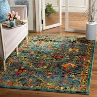 Safavieh Cherokee Transitional Blue/ Red Area Rug - 8' x 10'
