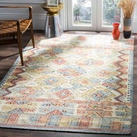 Safavieh Canyon Hand-Woven Ivory/ Multi Wool Area Rug - 8' x 10'