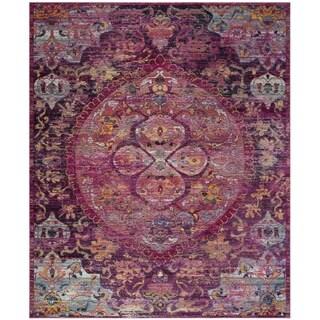 safavieh crystal pink purple area rug 8u0027 x
