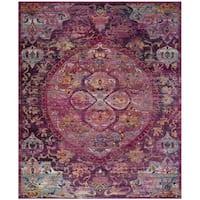 Safavieh Crystal Pink/ Purple Area Rug - 9' X 12'