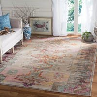 Safavieh Crystal Grey/ Purple Area Rug - 9' x 12'