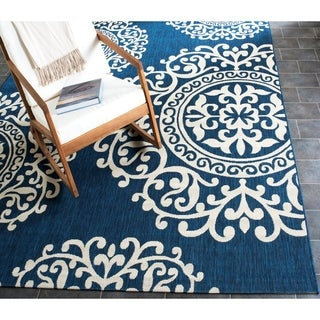 Safavieh Courtyard Moroccan Indoor/Outdoor Area Rug (8' x 10')