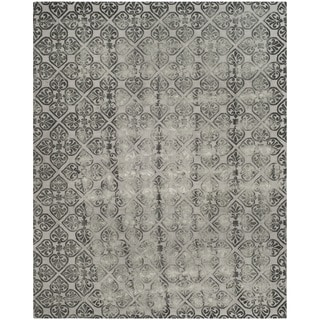 Safavieh Dip Dye Hand-Tufted Grey Wool Area Rug (8' x 10')