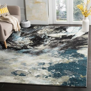 Safavieh Glacier Blue/ Multi Area Rug (9' x 12')