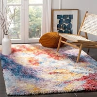 Safavieh Gypsy Red/ Ivory Polyester Area Rug - 8' x 10'