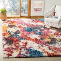 Safavieh Gypsy Ivory/ Blue Polyester Area Rug - 8' x 10'