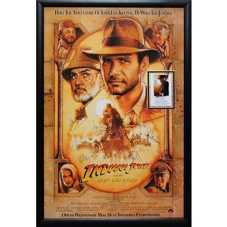 Cast-signed 'Indiana Jones and The Last Crusade' Movie Poster