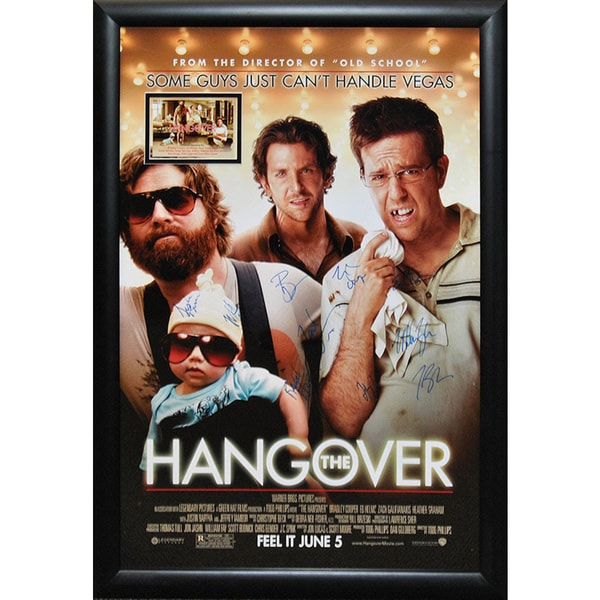 Cast-signed Hangover Movie Poster