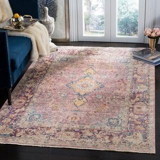 Safavieh Illusion Purple Viscose Area Rug (8' x 10')