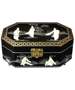 Handmade Violetta Jewelry Box (China)