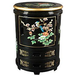 Handmade Oriental Stool (China) - Thumbnail 1