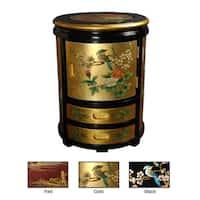 Handmade Oriental Stool (China)