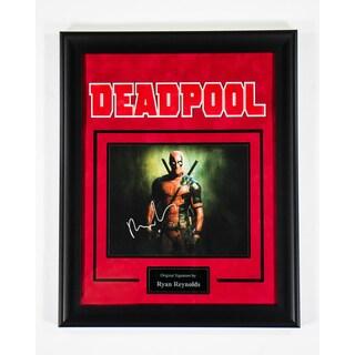 Ryan Reynolds 'Deadpool' Hand-signed Photograph
