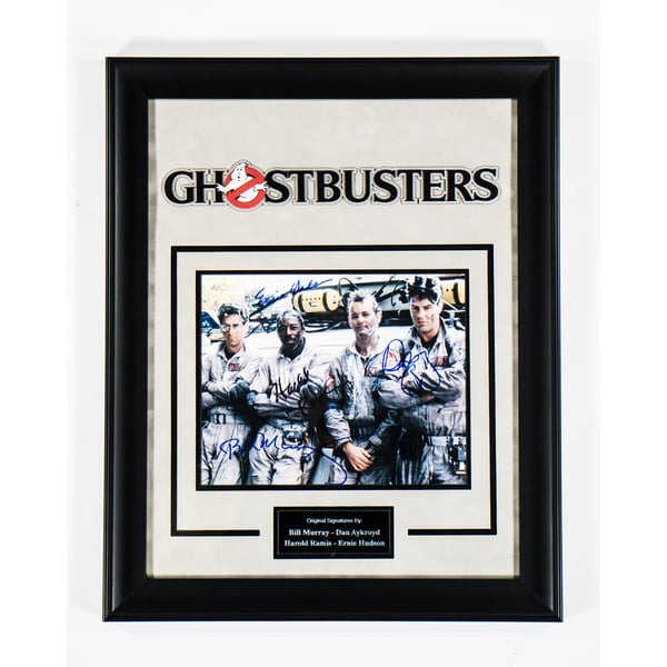 Hand-signed Ghostbusters 2016 cast photograph