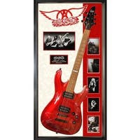 Hand-signed Aerosmith Guitar