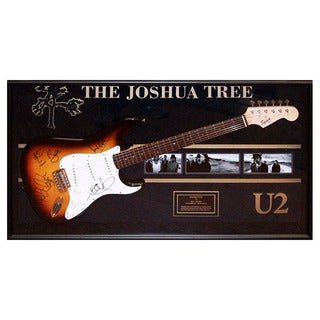 Hand Signed U2 Joshua Tree Guitar