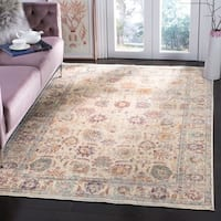 Safavieh Illusion Cream/ Purple Viscose Area Rug - 9' x 12'